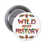 Wild About History Buttons