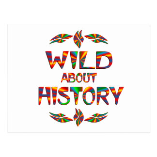 Wild About History Postcard