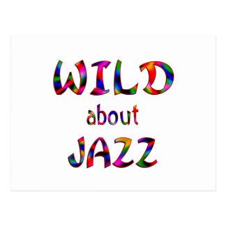 Wild About Jazz Postcard