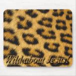 Wild About Jesus! Mousepad (leopard)