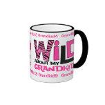 Wild About My Grandkids Personalized Mug
