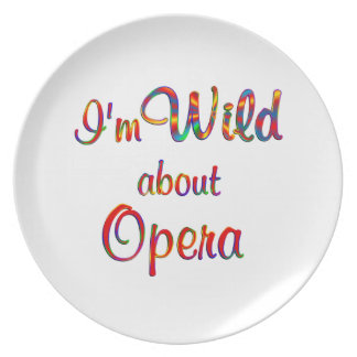 Wild About Opera Dinner Plate