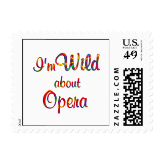 Wild About Opera Postage