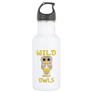 Wild About Owls Water Bottle