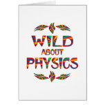 Wild About Physics Greeting Card