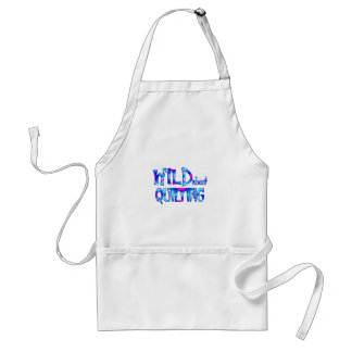 Wild About Quilting Adult Apron