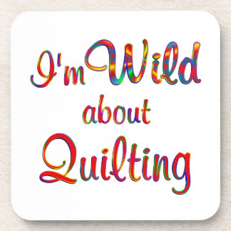 Wild About Quilting Coasters