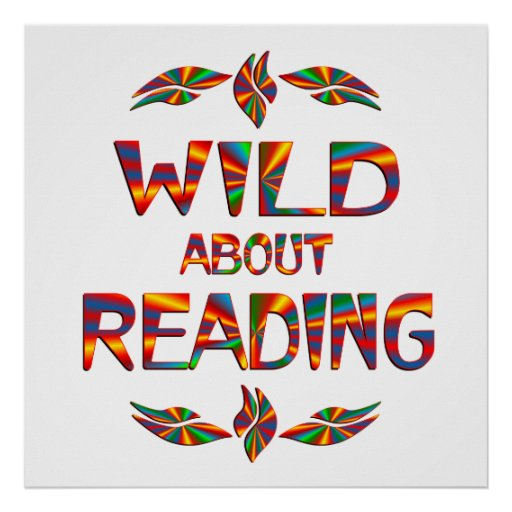 Wild About Reading Poster