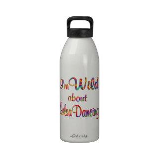 Wild About Salsa Dancing Water Bottles