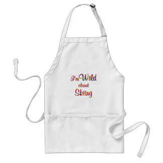 Wild About Skiing Aprons