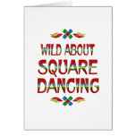 Wild About Square Dancing Cards