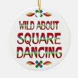 Wild About Square Dancing Ornament