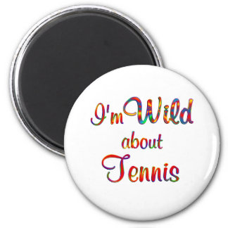 Wild about Tennis Magnets