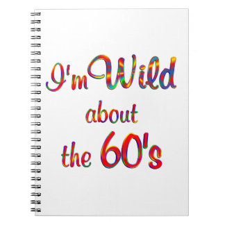 Wild About the 60s Spiral Notebook