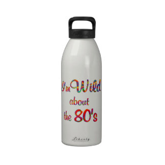 Wild About the 80s Water Bottles