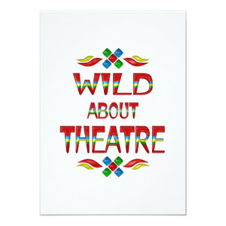 Wild About Theatre Card