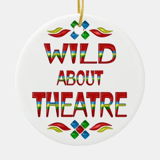 Wild About Theatre Ornament