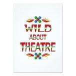 Wild About Theatre Personalized Invitations