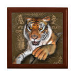 Wild About Tigers Jewelry Boxes