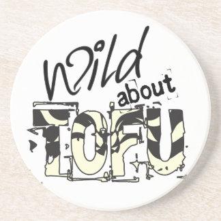 Wild about TOFU Coaster