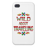 Wild About Traveling iPhone 4/4S Covers
