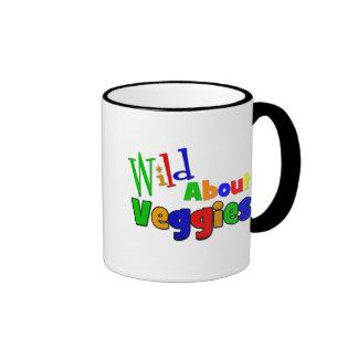WILD About VEGGIES Ringer Mug