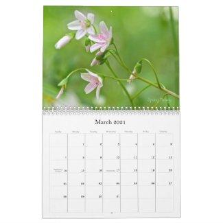 Wild About Wildflowers #2 Calendar
