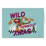 Wild about Xmas Greeting Card