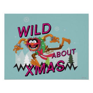 Wild about Xmas Poster