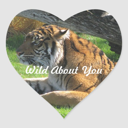 Wild About You Sticker