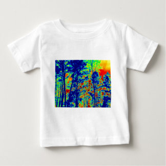 Wild Abstract Landscape Photography Baby T-Shirt