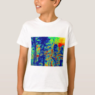 Wild Abstract Landscape Photography T-Shirt