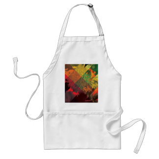 Wild Abstract of Nature Adult Apron