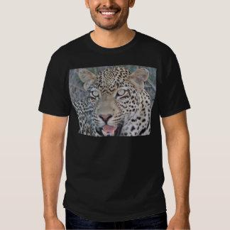 Wild African Leopard Eyes Shirt