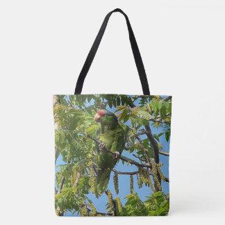 Wild Amazon Parrot Bird Wildlife Animal Tote Bag