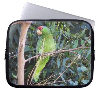 Wild Amazon Parrot Birds Animals Wildlife Laptop Sleeve