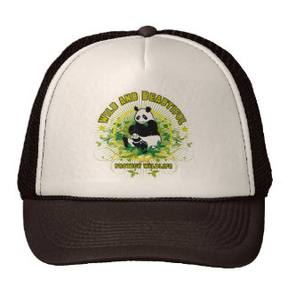 Wild and beautiful Panda Hat