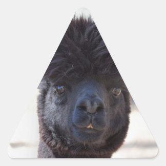 Wild and Crazy Alpaca Hair Style Sticker