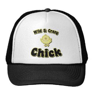 Wild and Crazy Chick Trucker Hat