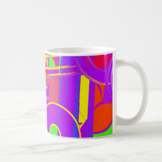 Wild and Crazy Purple Hues Coffee Mug