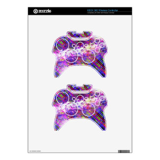 Wild and crazy xbox 360 controller decal