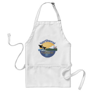 Wild and Free Adult Apron