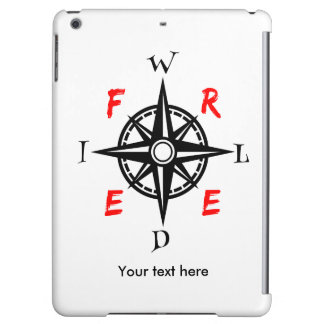 Wild And Free Adventurer Design Cover For iPad Air