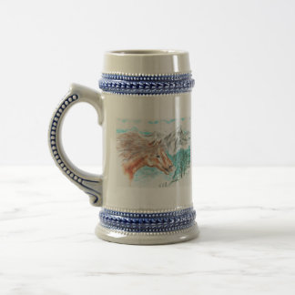 Wild And Free Beer Stein