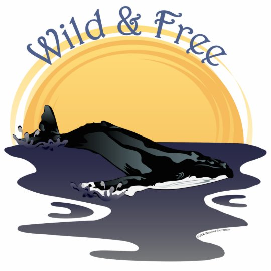 Wild and Free Cutout