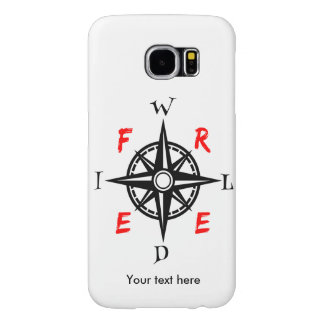 Wild And Free For Those With Wanderlust Samsung Galaxy S6 Case