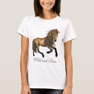 Wild and Free Horse T-Shirt