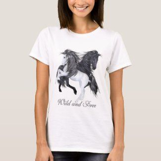 Wild and Free Horses T-Shirt