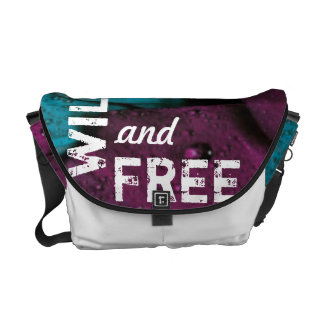 Wild and Free Messenger Bags