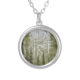 Wild And Free Personalized Necklace